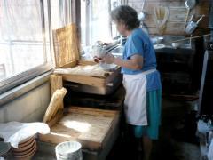 赤坂製麺所の名物おばちゃん