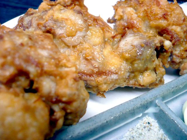 鶏の唐揚げ3個