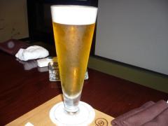 取りあえずビール