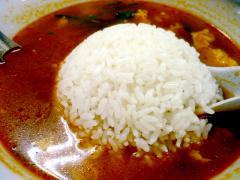 ライス in the からから麺 5辛