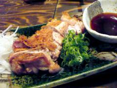 地鶏もも肉の炙り ねぎポン酢