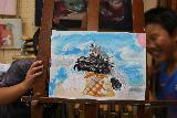 2009 7 たまあーとモデルズを描く kannseisann 033_R