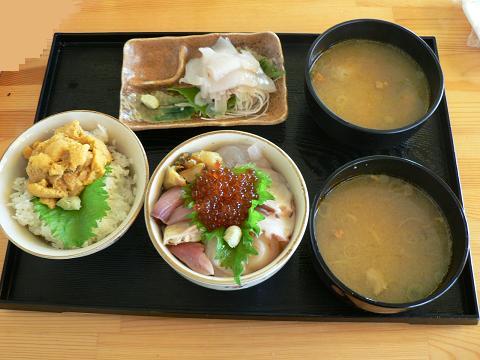 ウニ・海鮮丼