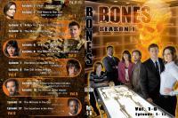 BONES Season1 ジャケット1