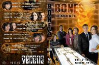 BONES Season1 ジャケット2