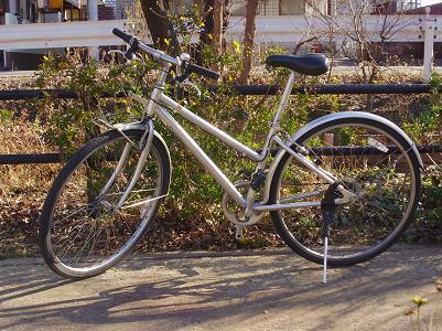 090116クロスバイク