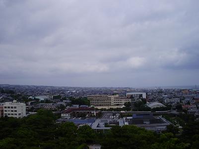 090604天守閣風景