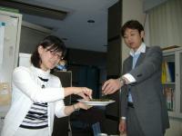 藤本さんと、高橋次長