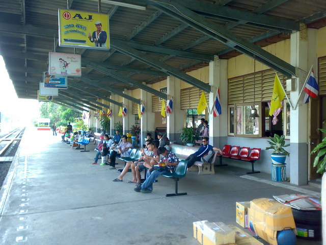 タイ鉄道 バンポン駅01
