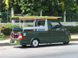 アユタヤ 三輪タクシー01