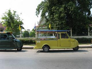 アユタヤ 三輪タクシー02
