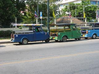 アユタヤ 三輪タクシー05