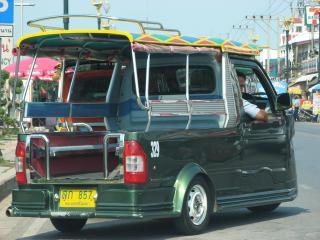 アユタヤ 三輪タクシー06