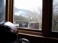 カフェ氣遊 店内からの景色
