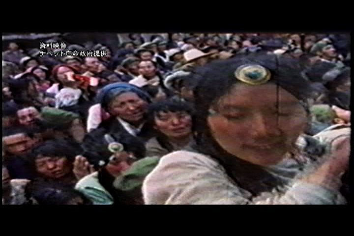 資料映像、ラサのデモ