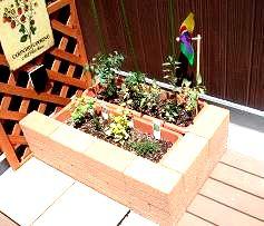 ミニミニ花壇風