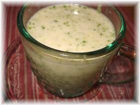 ブロッコリーの冷製スープ