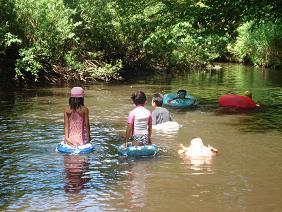 川遊び♪子供達!