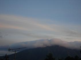もやのかかった雲♪