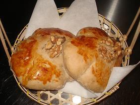 甘い胡桃パン