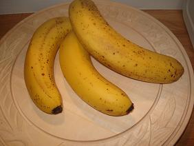 バナナでパンを・・・♪