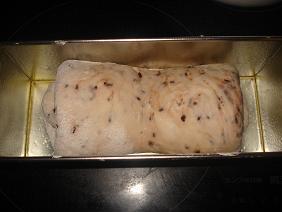 パウンドケーキ型に・・