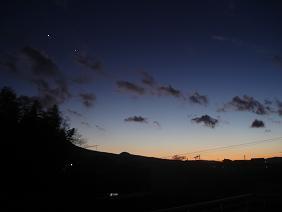 夕方の景色・・・♪