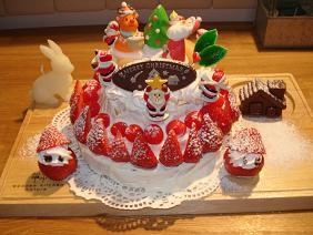 2008 クリスマスケーキ♪