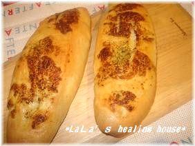 ガーリックフランスパン♪