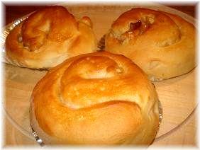 キャラメルナッツパン♪