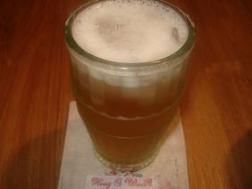 梅ジュース&ビール