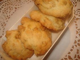 キャラメルチョコ&くるみのドロップクッキー☆