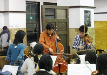 2009.3.30桑田先生弦分奏
