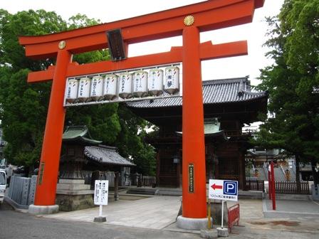 2009.5.22椿神社鳥居