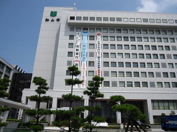 2009.7.23松山市役所