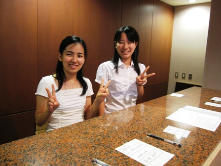 2009.8.1花束受付