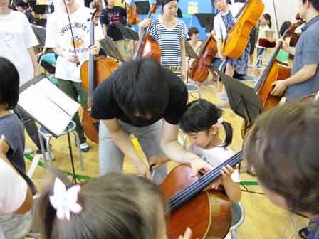 2009.8.3楽器体験