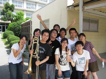 2009.8.3打楽器、コントラバス