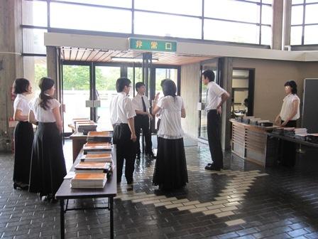 2009.8.4松山会場入り口