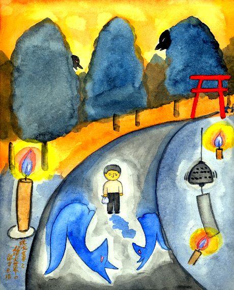 童画作家 秋野赤根のセンチメンタル・ロマン遠い日の情景   「心引かれる谷内六郎の絵の世界」 第二回 現実世界と超現実世界の融合
