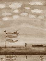 童画作家 秋野赤根のセンチメンタルロマン遠い日の情景 谷内流