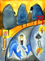 童画作家 秋野赤根のセンチメンタル・ロマン遠い日の情景 「心引かれる谷内六郎の絵の世界」 第二回 「現実世界と超現実世界の融合 」