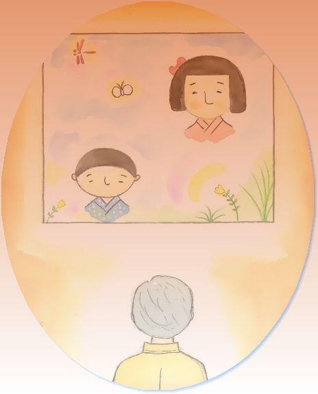 童画作家 秋野赤根のセンチメンタル・ロマン遠い日の情景   「心引かれる谷内六郎の絵の世界」