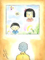 童画作家 秋野赤根のセンチメンタル・ロマン遠い日の情景「心引かれる谷内六郎の絵の世界」