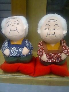 金さん銀さん人形