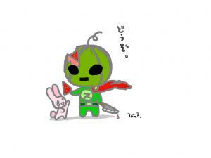 スイカ仮面02