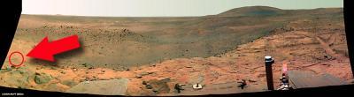火星人か?NASA探査ロボット撮影の写真で騒然3