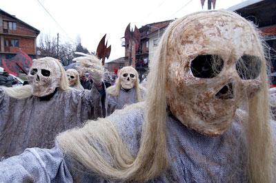 マケドニアの死体の謝肉祭1