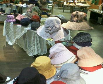 癒しの集い帽子
