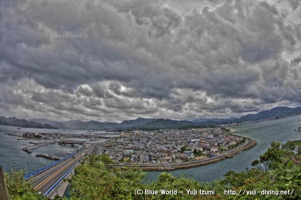 仙崎の町並み